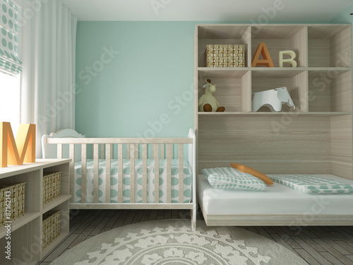 nursery interior