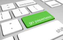 Go Paperless Key On A Computer...
