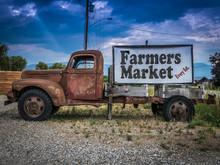 Vintage Truck Farmers Market S...