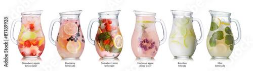 Fotografie, Obraz Summer drinks collection