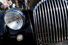 Black Oldtimer Car