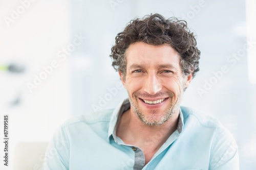 Portrait of casual businessman