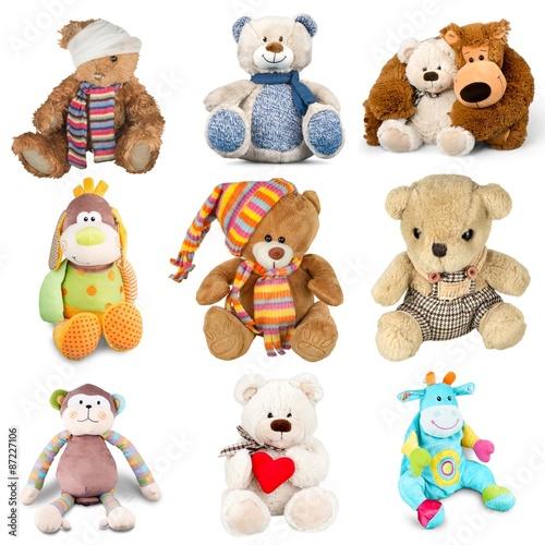 Fotografie, Obraz  Teddy Bear, Toy, Stuffed Animal.
