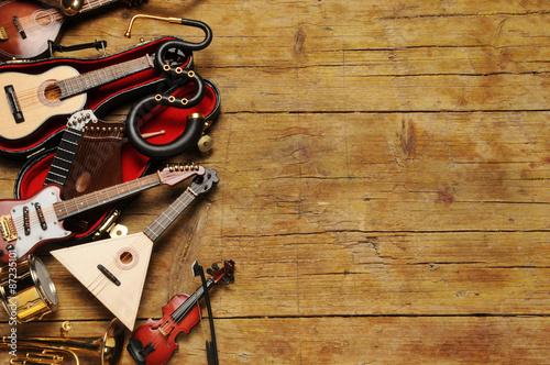 Obraz na plátně Music genre Generi musicali Género musical Музыкальный жанр نوع موسيقي Musikgenr