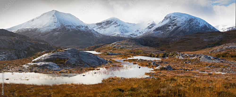 Fototapeta Scottish Highlands