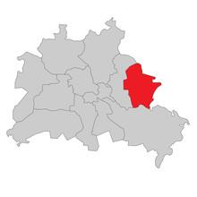 Berlin Marzahn-Hellersdorf - Vektor