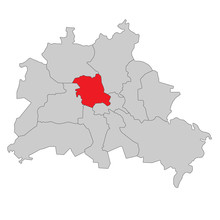 Berlin Mitte - Vektor