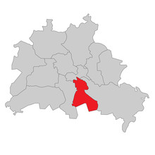 Berlin Neukölln - Vektor