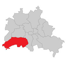 Berlin Steglitz-Zehlendorf - Vektor