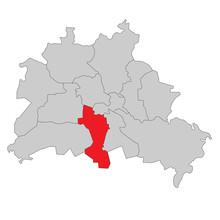 Berlin Tempelhof-Schöneberg - Vektor