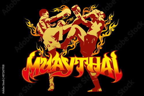 thai boxing - 87267958