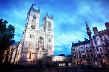 Westminster Abbey Church Facad...