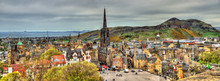 Panorama Of Edinburgh From The...