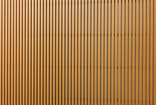 Texture Of Wood Lath Wall