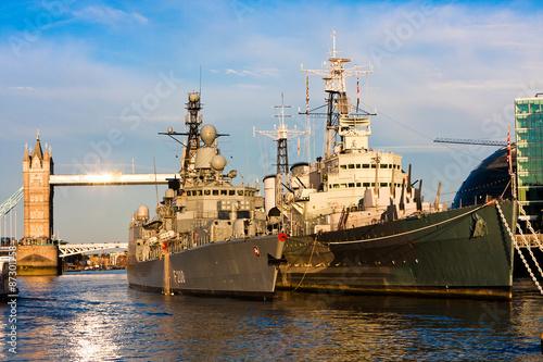 Tableau sur Toile Warships
