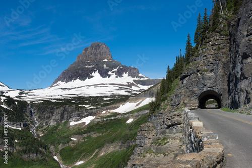 Fotografie, Obraz  Beautiful view of Glacier National Park belong Going to the sun