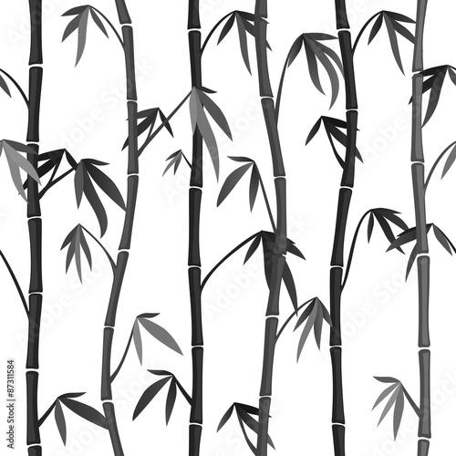 Tapety do przedpokoju bezszwowy-tlo-z-bambusowymi-trzonami