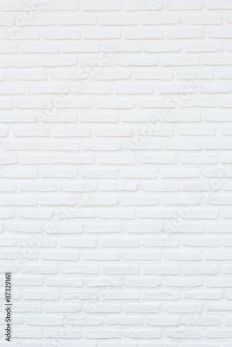 white brick wall Wallpaper Mural