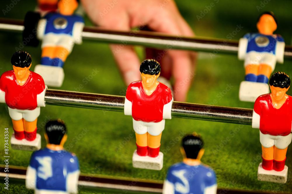 Photo & Art Print Vintage Foosball, Table Soccer or Football ...