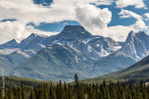 Majestic Rocky Mountains by Canmore