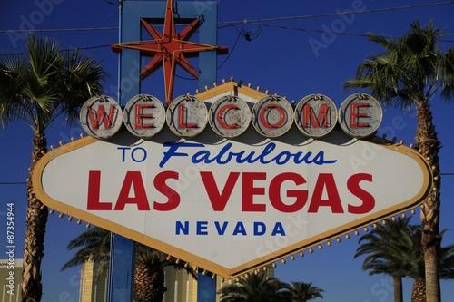 Poster Las Vegas ネオンサイン ラスベガス 観光名所 気をつけて