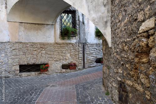Fotografie, Obraz  Scorcio di Anagni