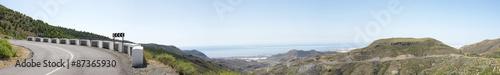Panorámica de la Alpujarra almeriense, Almería, España