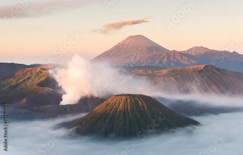 Bromo volcano,Tengger Semeru National Park, East Java, Indonesia