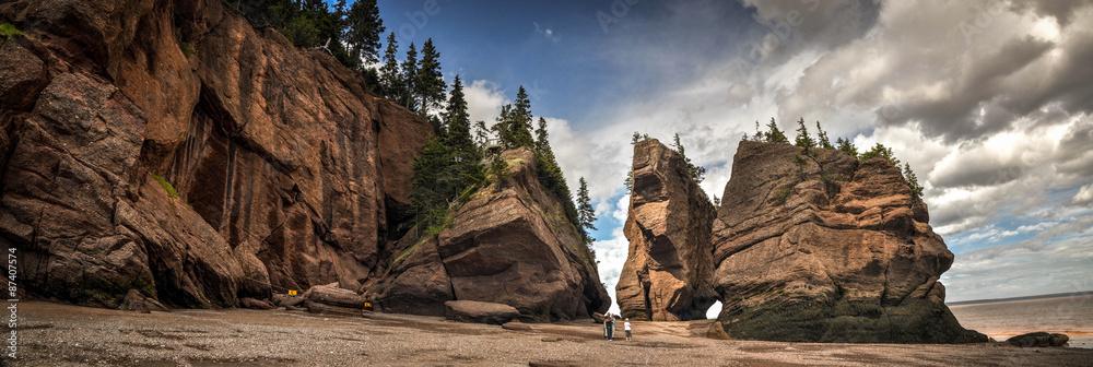 Fototapety, obrazy: Hopewell Rocks park