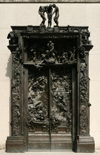 Gates Of Hell By French Sculptor Auguste Rodin.