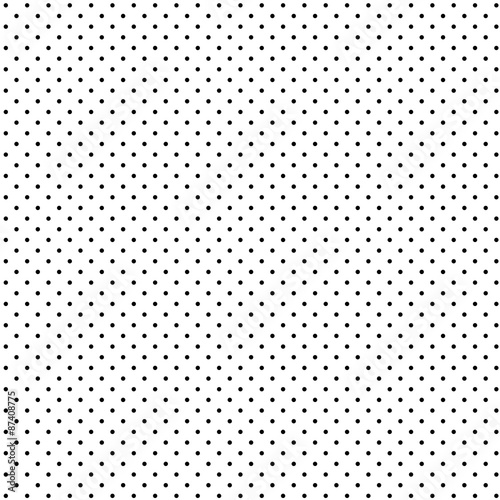Endloser Hintergrund Punkte schwarz weiß