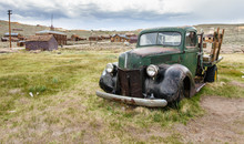 Old Pick-up Truck In Bodie, California