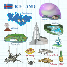 Travel Concept Of Iceland