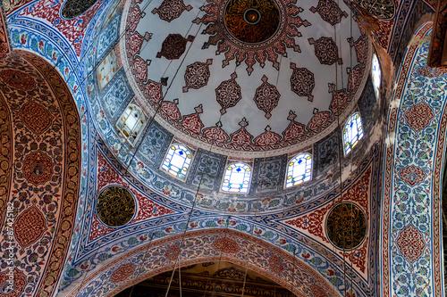 Fotografia, Obraz  istanbul, blaue, moschee, decke