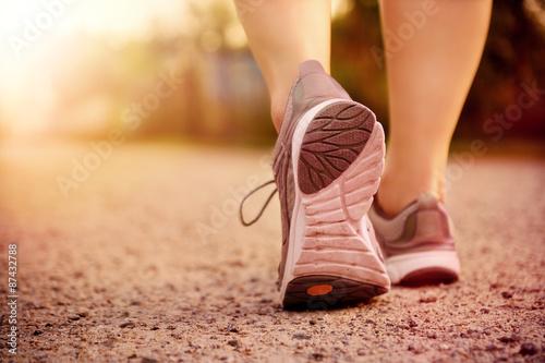 Foto  Füße Laufen