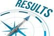 Leinwandbild Motiv Results against compass