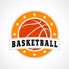 FototapetaBasketball emblem logo