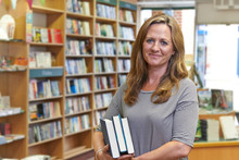 Portrait Of Female Bookshop Owner