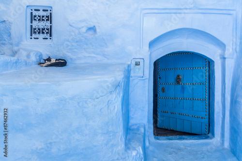Papiers peints Maroc The blue medina of Chefchaouen, Morocco