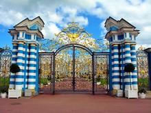 Tzarskoe Selo Catherine Palace Gates