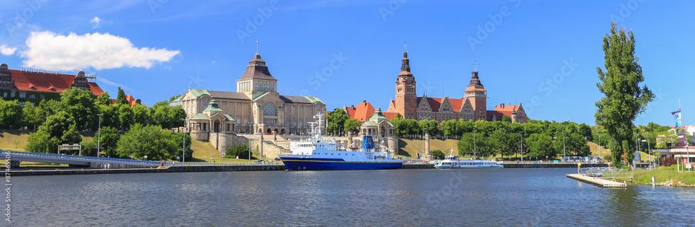 Fototapeta Szczecin - panorama miasta