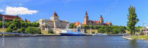 Fototapeta Szczecin - panorama miasta obraz