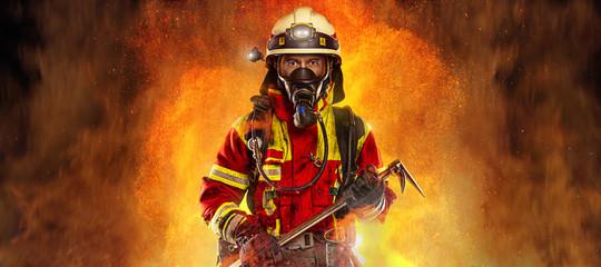 Panorama strażaka