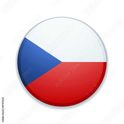 Czech button Poster
