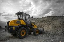 Yellow Construction Machine - ...