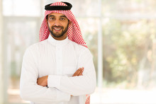 Arabian Man With Arms Crossed