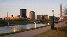 Dayton Ohio Downtown City Skyl...
