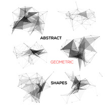 Set Of Abstract Vector Geometr...