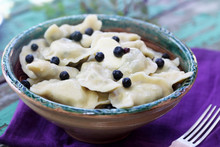 Blueberries Dumplings