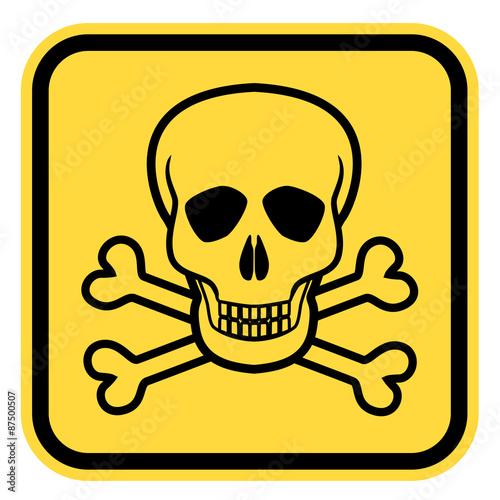 Fotografía  Danger skull